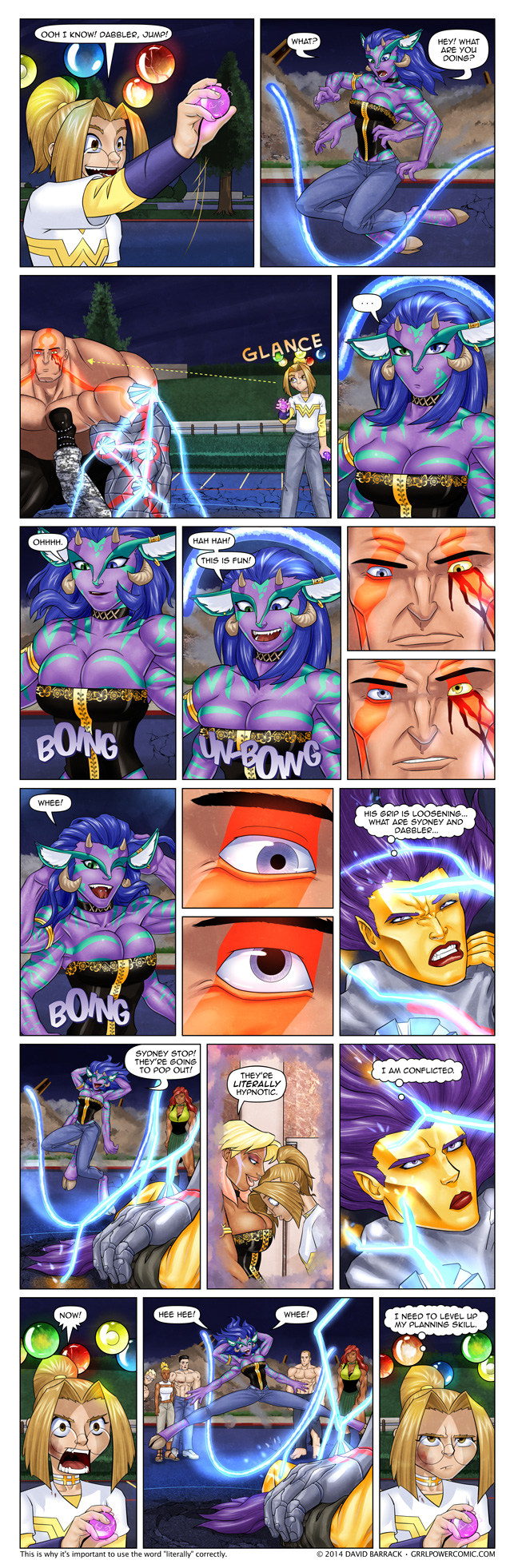 Grrl Power #281 – The power of the grrls