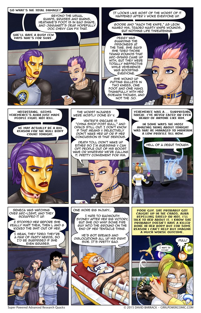 Grrl Power #290 – After action action