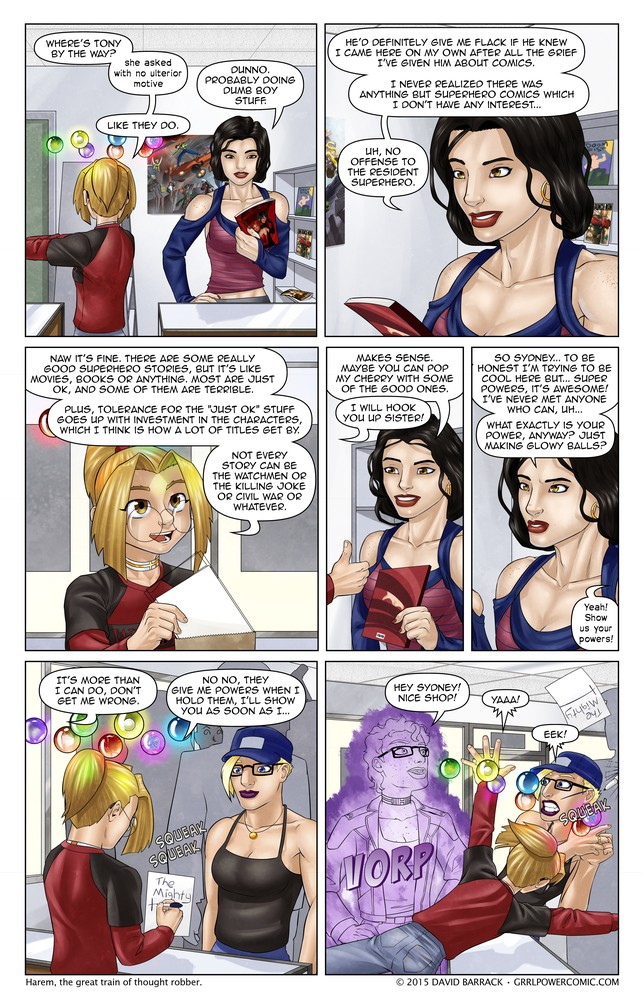 Grrl Power #304 – A wild Harem appears!