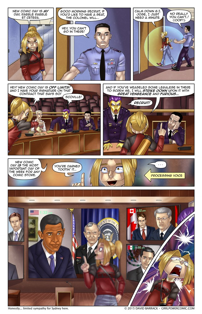 Grrl Power #313 – This measures an eight on the Sydney scale