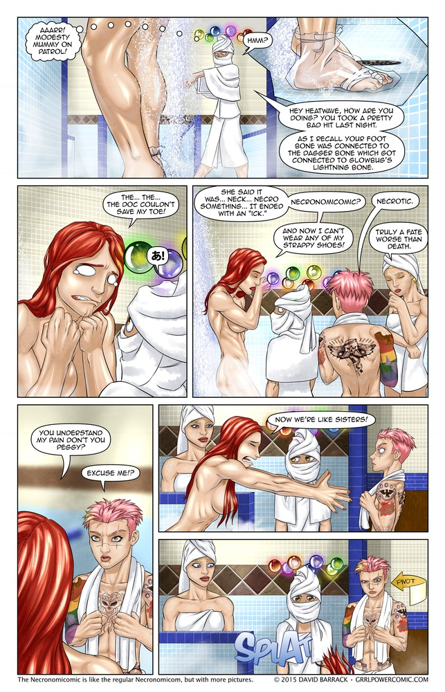 Grrl Power #341 – Absentoeism