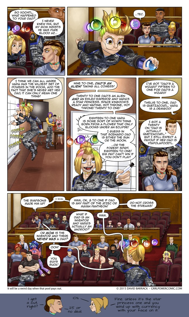 Grrl Power #360 – Chalking up