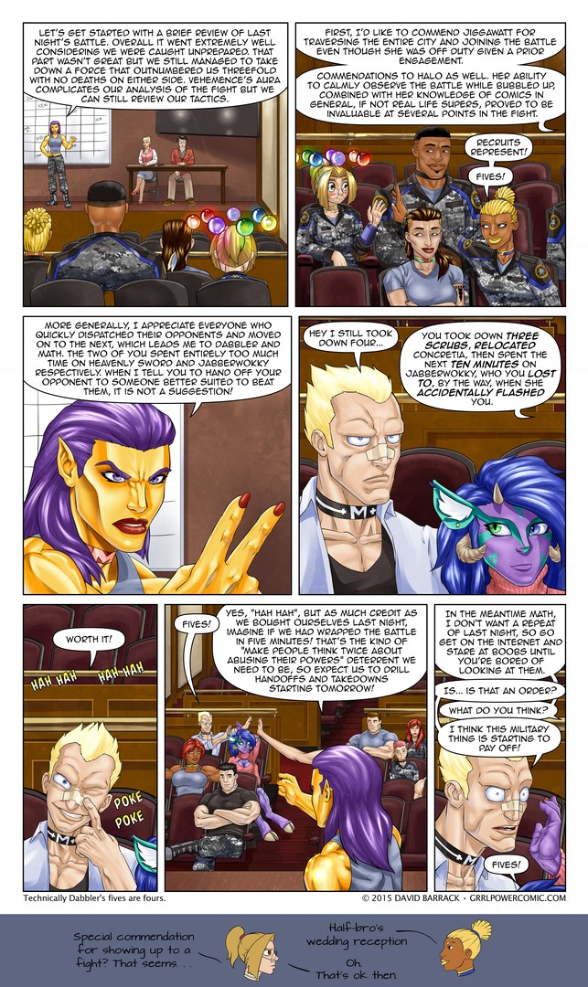 Grrl Power #361 – Hits and misses