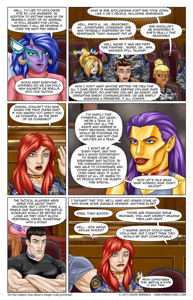 Grrl Power #362 – Equipmental