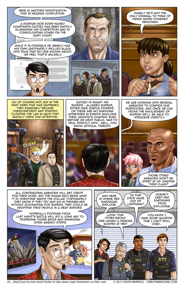 Grrl Power #367 – Collar commandeering