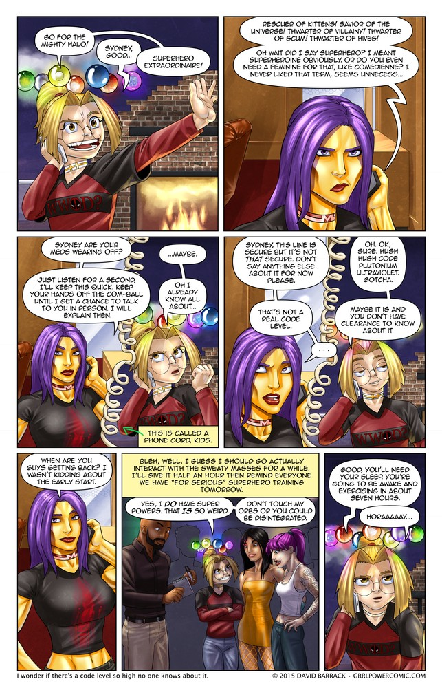Grrl Power #382 – Code black times infinity +1