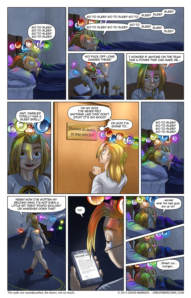 Grrl Power #385 – Deep in the bosom of the gentle night…