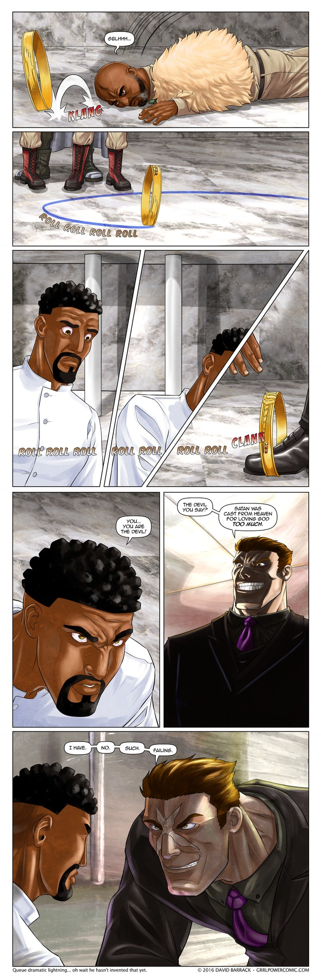 Grrl Power #391 – Melodramatic fanatic