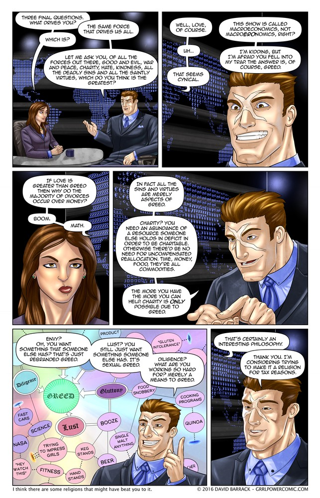 Grrl Power #394 – Philosonomics
