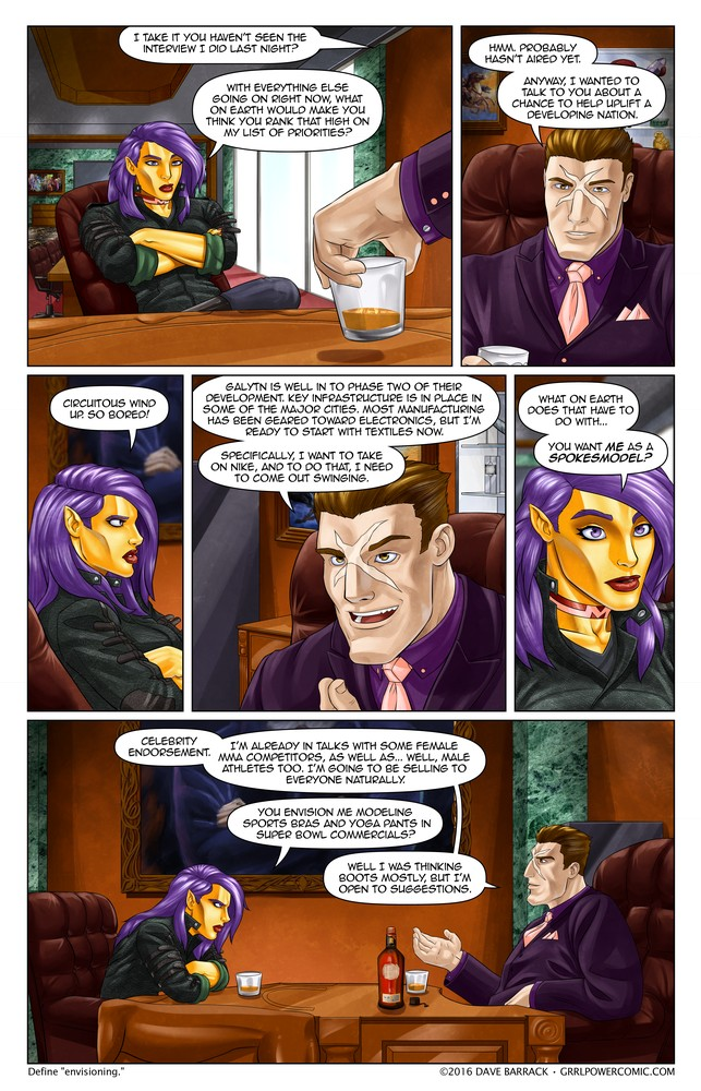 Grrl Power #410 – Maximized marketing