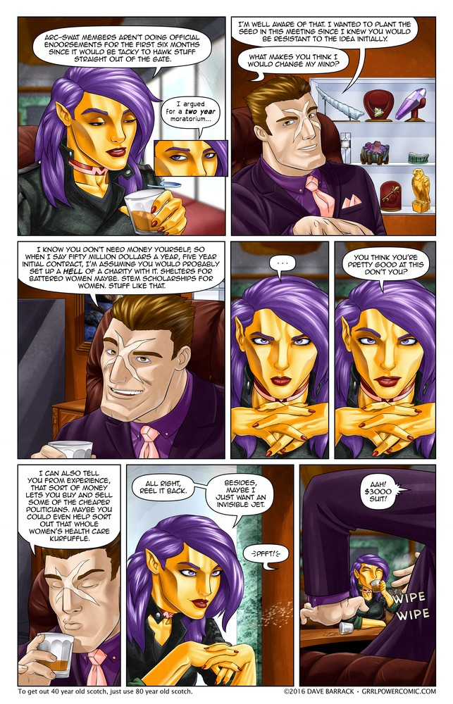 Grrl Power #411 – Tete-a-Tet Offensive