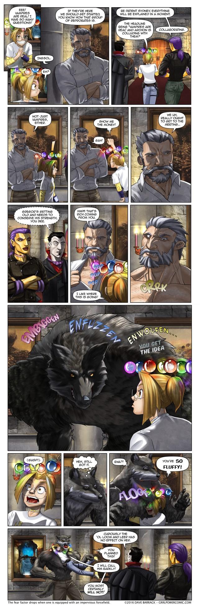 Grrl Power #441 – The wolfening