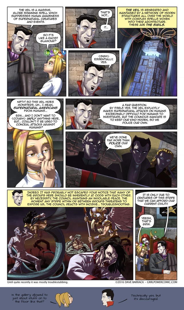 Grrl Power #456 – Supernatural police brutality