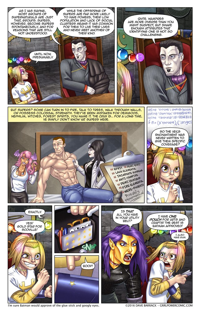 Grrl Power #458 – The Super enigma
