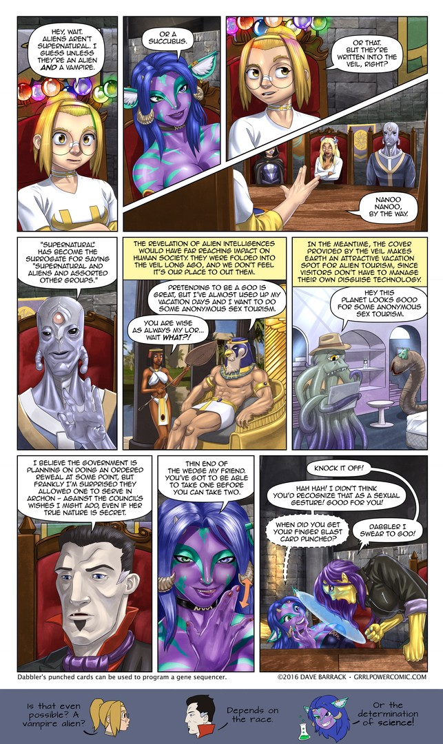 Grrl Power #461 – Clandestilen