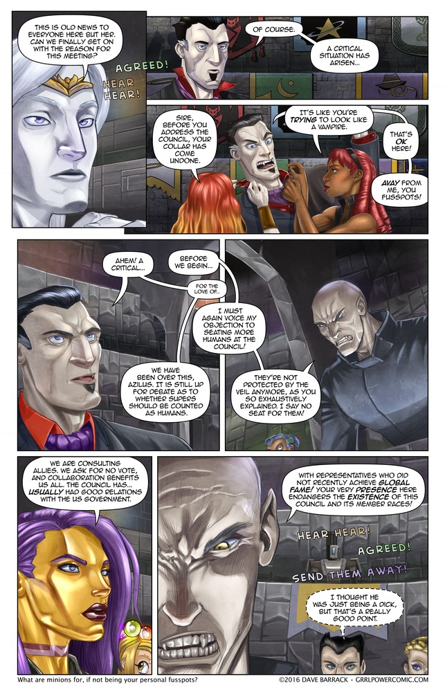 Grrl Power #462 – Seating arrangements