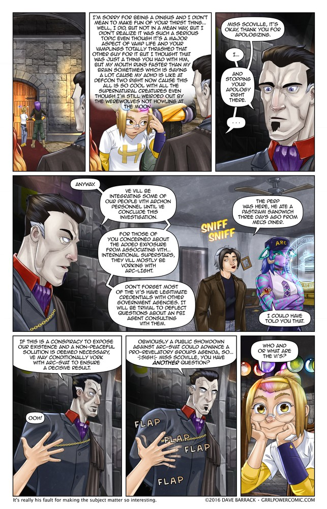 Grrl Power #466 – Vampal indulgences