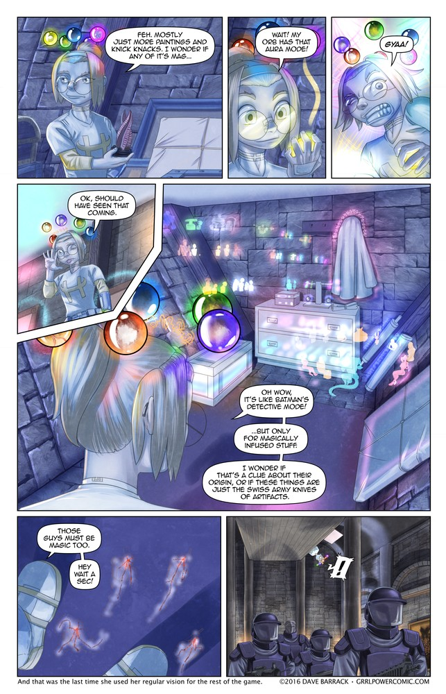 Grrl Power  #469 – SWAT-o-gram?