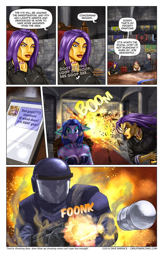 Grrl Power #470 – Knock knock bang smash