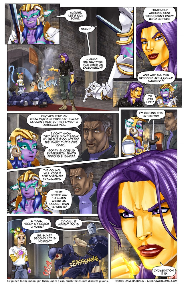 Grrl Power #474 – Disassembly line