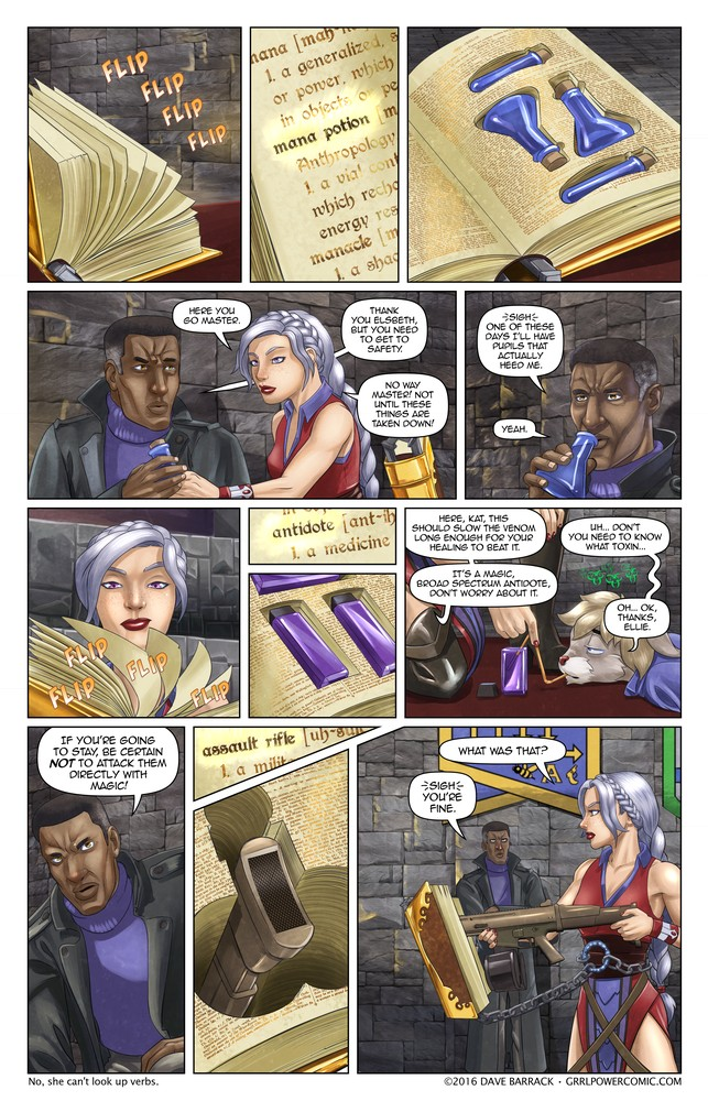 Grrl Power #480 – No relation to Captain Caveman