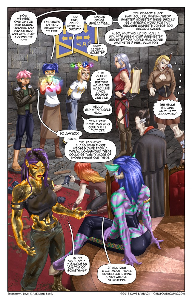 Grrl Power #486 – Post-denouement loiter