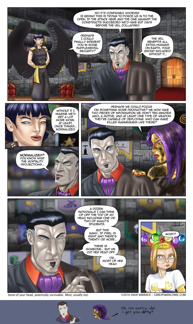 Grrl Power #488 – Unusual suspects