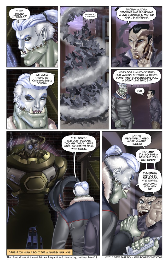 Grrl Power #489 – Two liter minimum