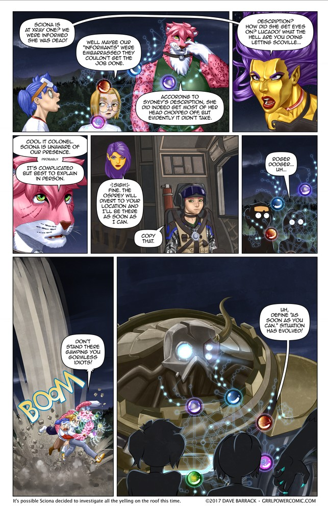 Grrl Power #507 – Not so mini boss