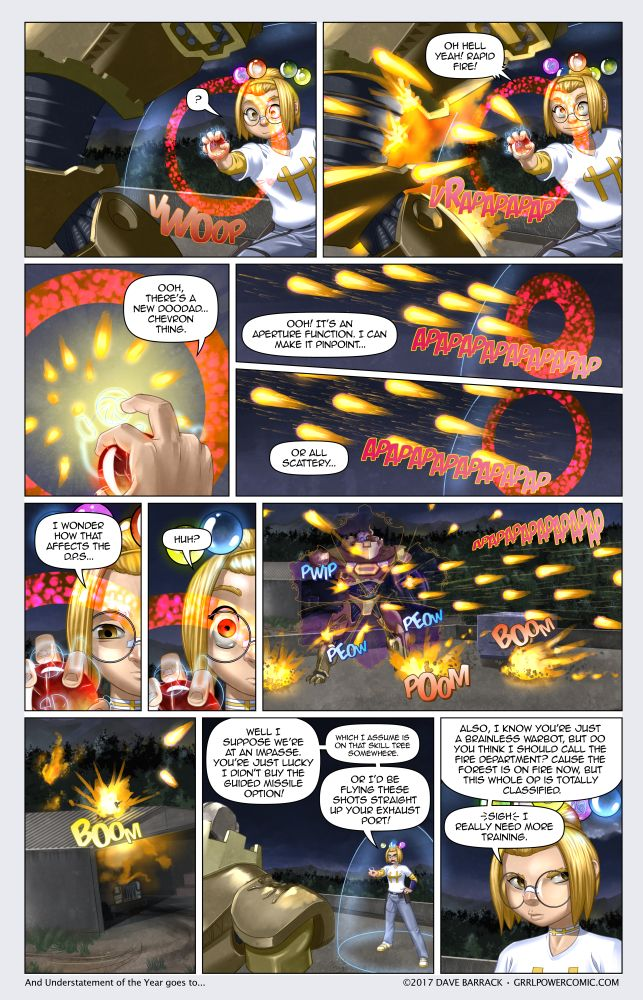 Grrl Power #511 – Rapid fire starter