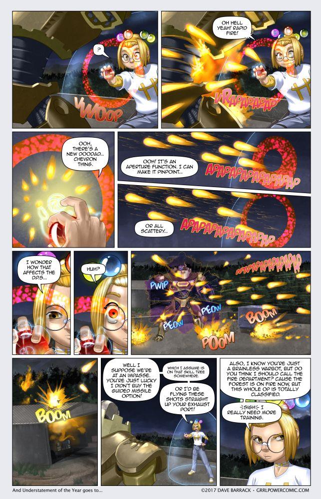 Grrl Power #511 – Rapid fire starter