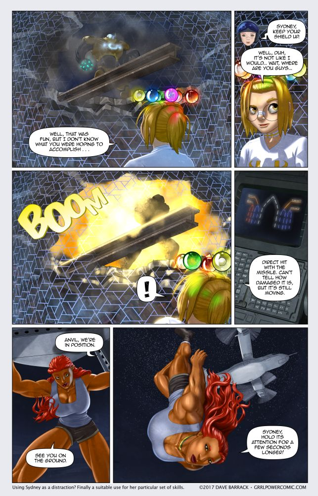Grrl Power #515 – Amazon delivery