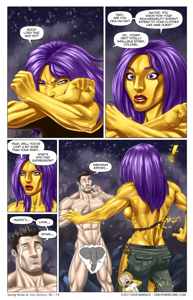 Grrl Power #521 – To no dress