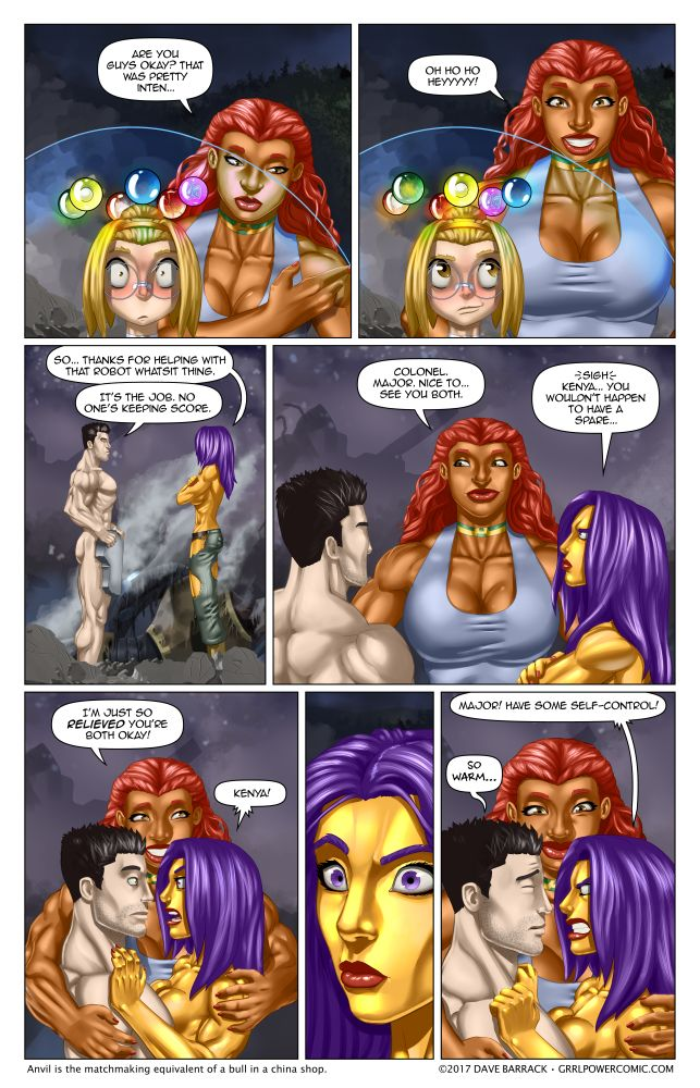 Grrl Power #522 – Little Giant Miss Matchmaker