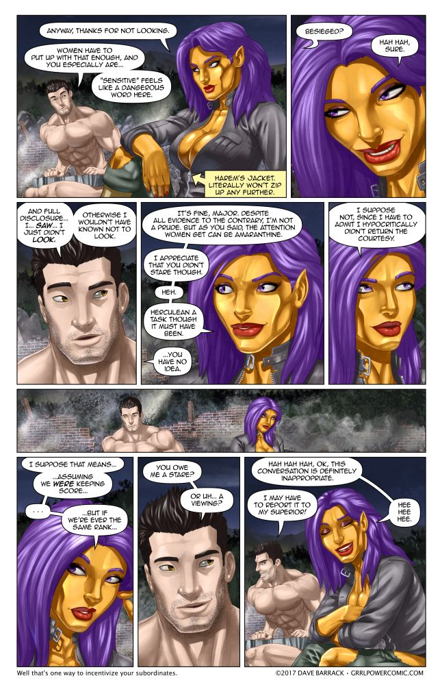 Grrl Power #523 – Field flirt