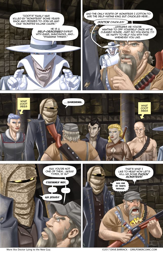 Grrl Power #532 – Monster hunting