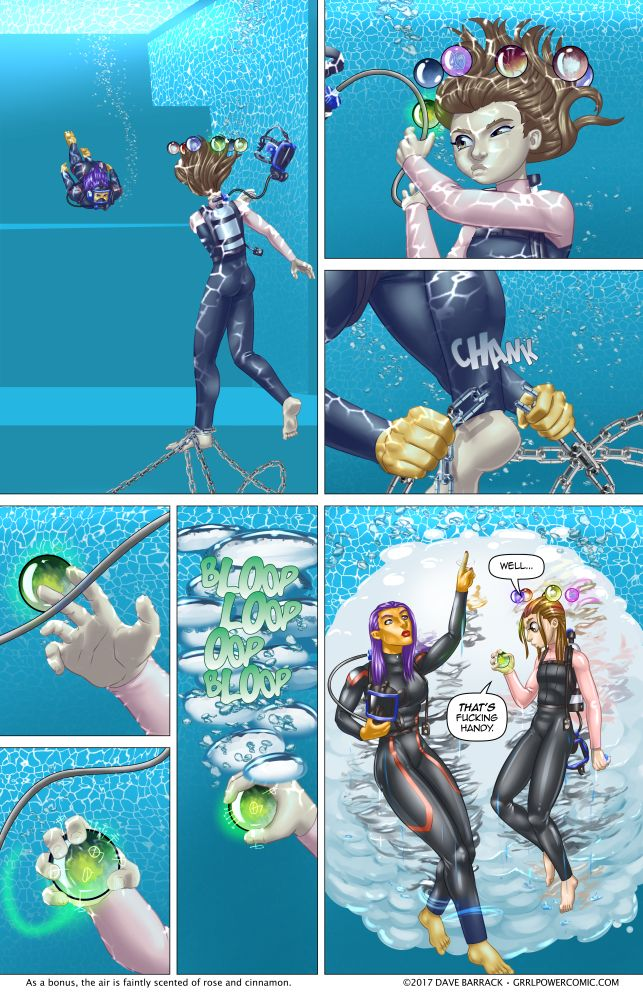 Grrl Power #541 – Bubble Untrouble