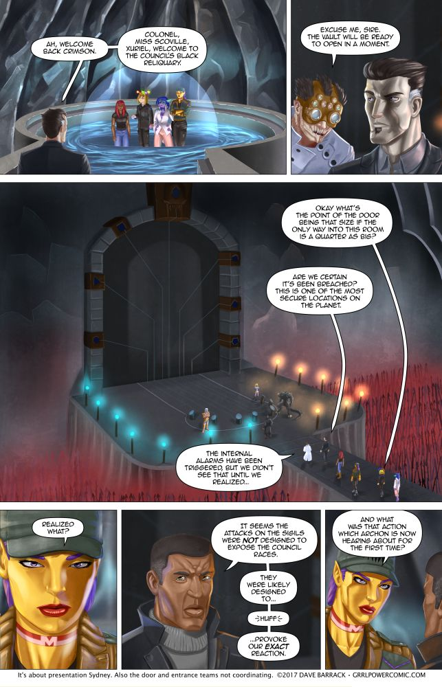 Grrl Power #553 – Now that is a big door