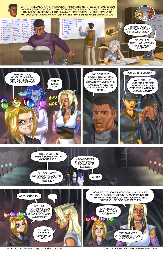 Grrl Power #555 – One stop inconvenience shopping