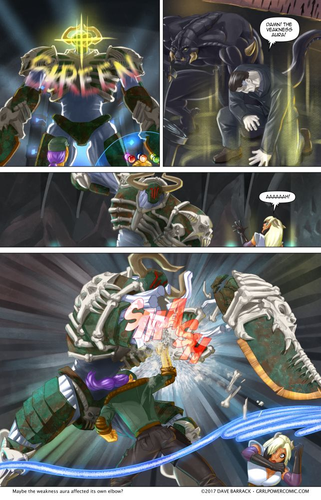 Grrl Power #558 – Tennis elbow, Maxima style