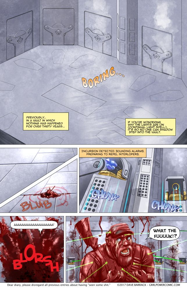 Grrl Power #562 – Hoisted by being the vanguard