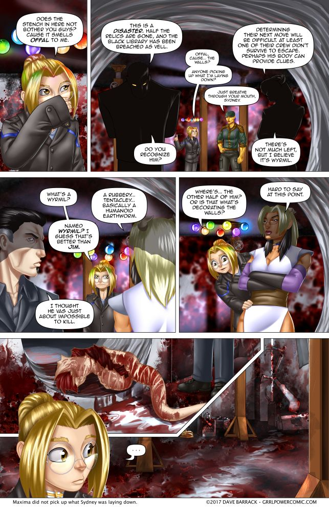 Grrl Power #574 – Trail off