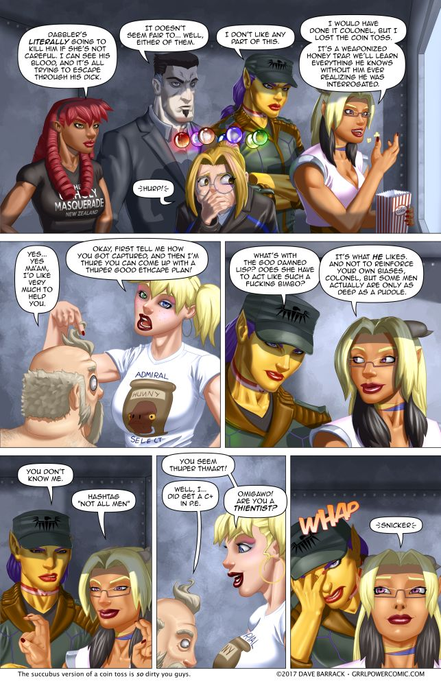 Grrl Power #577 – The other side of the one-way glass