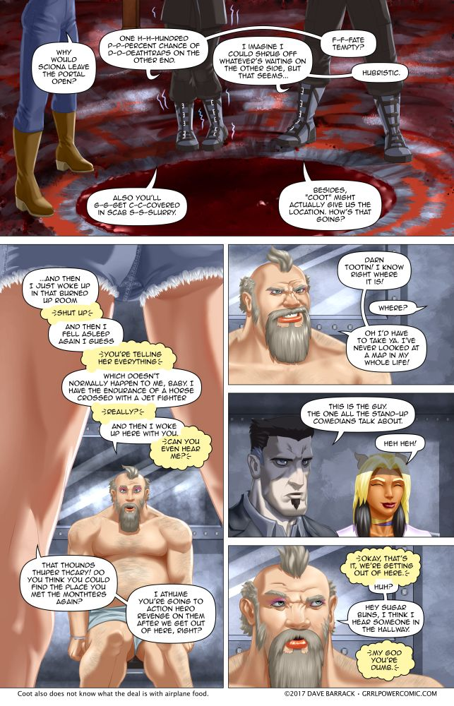 Grrl Power #582 – Intragation