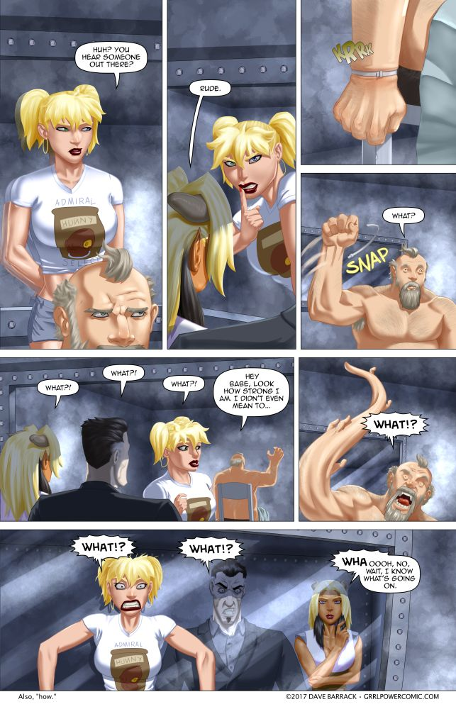 Grrl Power #583 – Everyone owes each other a coke