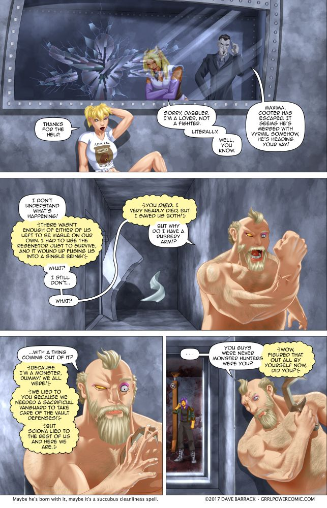 Grrl Power #584 – Escape bear