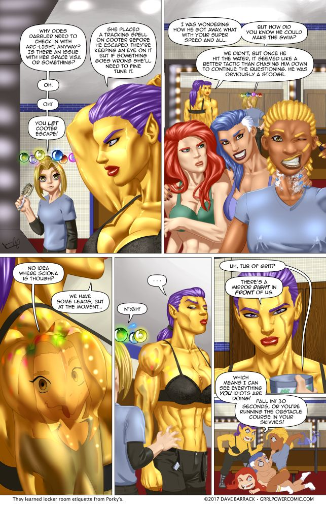 Grrl Power #593 – Cat play