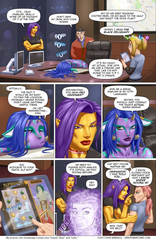 Grrl Power #598 – A break in… the case! (Also ARC-Light HQ)