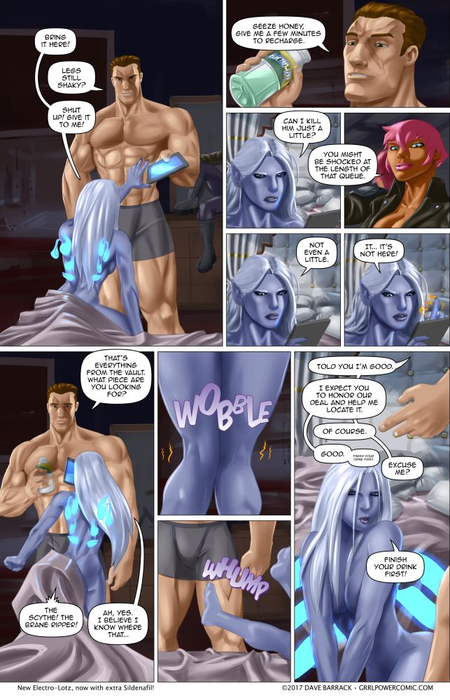 Grrl Power #608 – Twofer