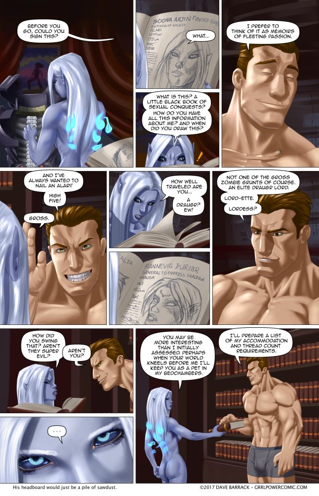 Grrl Power #609 – Little black encyclopedia set